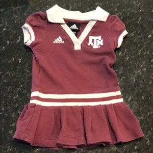 Texas A&M game day dress 18 month
